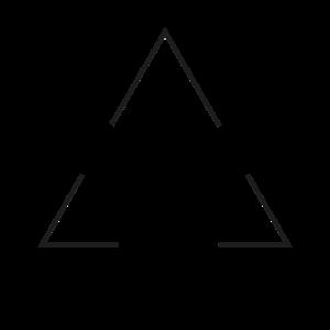 Dreieck Triangle T-Shirt Geschenk