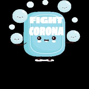 Fight Corona Seife Soap Shirt
