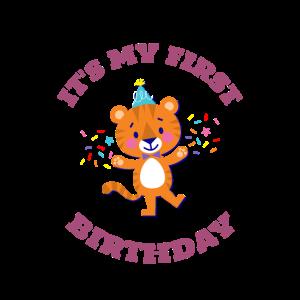 Es ist mein erster Geburtstag