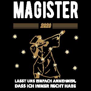 Dabbing Magister Sponsionsgeschenk 2020