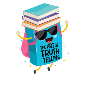 The art of truth telling Bücherwurm Leseratte