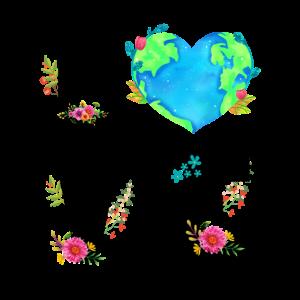 Liebe unsere Erde für Umweltschützer