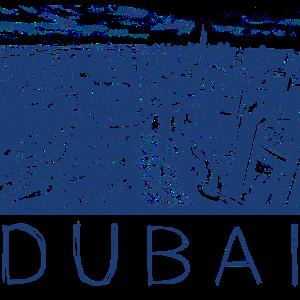 Stiftzeichnung Dubai