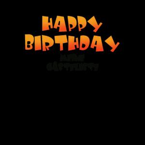 Happy Birthday meine Gästeliste