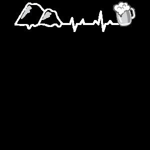 Herzschlag - Wandern und Bier.