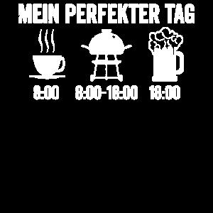 Caffee Grill Bier Grillen