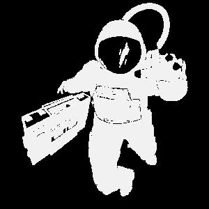 Boombox Music Astronaut