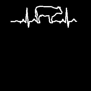 Herzschlag Kuh Kühe