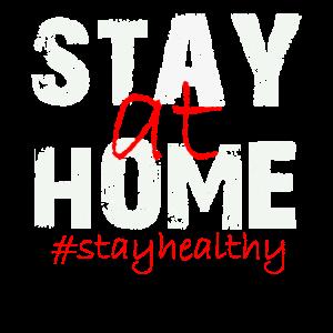 stay at home stay healthy zuhause bleiben gesund