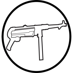 Mp40 german gun maschinenpistole 40