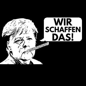 Merkel-Corona Wir schaffen das! Angela Merkel
