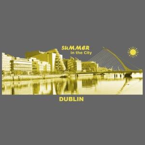 Summer Dublin City Irland Ireland Sommer Sonne