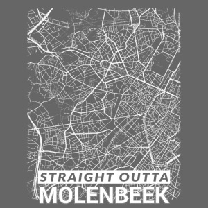 Straight Outta Molenbeek city map and streets