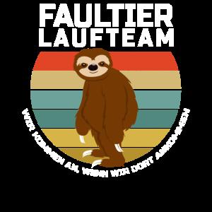 Faultier Lauf Team!