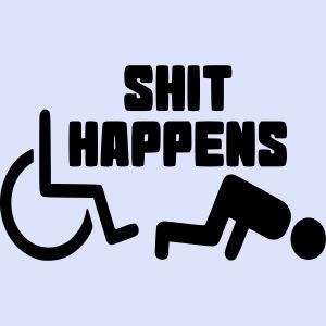 Soms heb je ook pech met een rolstoel