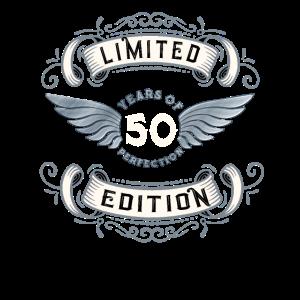 50th Birthday Geschenk Vintage Design T-Shirt