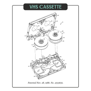VHS Casette 80er Jahre