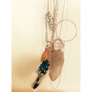 Feathers n´ gold