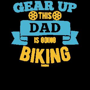 Papa Fahrrad Mountainbike Pedelec Vater