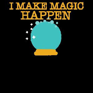 Zauberer Magier Glaskugel