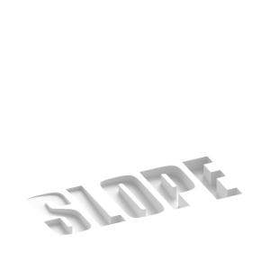 SLOPE Typografie