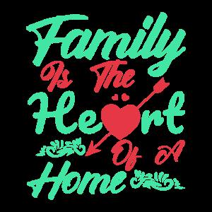 Die Familie ist das Herz der Heimat