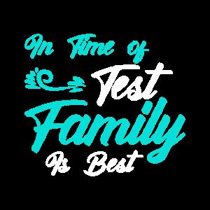Die Familie ist das beste!