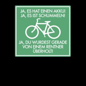 Rentner Rente Ruhestand E-Bike Elektrofahrrad