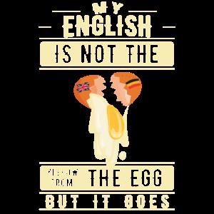 Lustiger Denglisch Ei Spruch Denglish Sprüche
