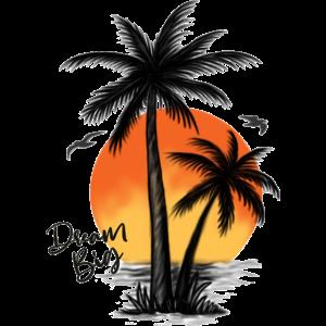 Palmen Urlaubs Gefühl   Freizeitmode Bstyled