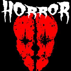 Horror Clown Dämonen Fratze