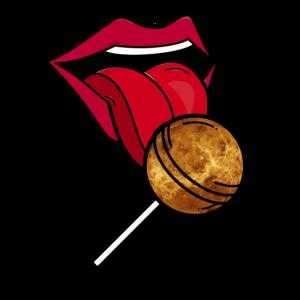 Planet Venus Lollipop