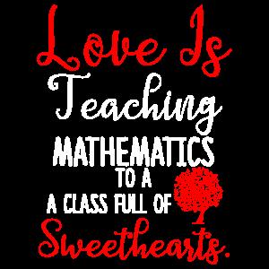 Mathematiklehrer Valentinstag Schüler Geschenke für Lec