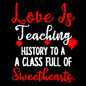 Geschichtslehrer Valentinstag Schüler Geschenke für
