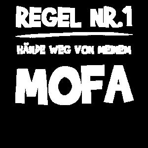 Mofa Mofafahrer Moped Geschenk