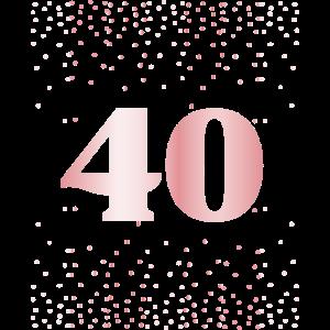 Geburtstag Geschenk Damen 40 Jahre