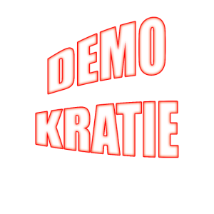 Demokratie für Demonstration