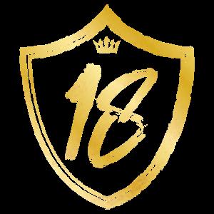 18 nummer jahr gold