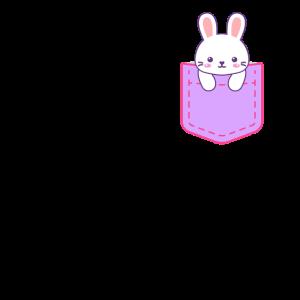 Brusttasche Hase