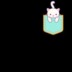 Brusttasche Katze