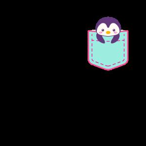 Brusttasche Pinguin