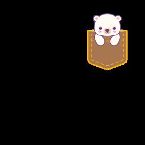 Brusttasche Bär
