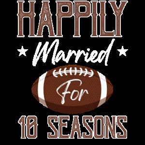 Glücklich verheiratet für 10 Jahreszeiten