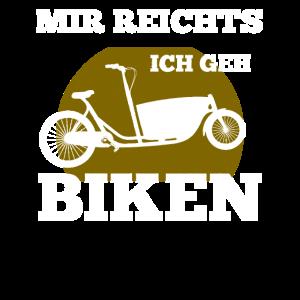 Retro Fahrradkurier Lastenrad