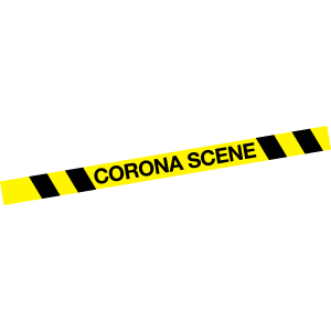 Corona Scene Abstand halten covid-19