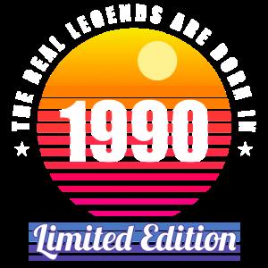 30. Geburtstag Legende Vintage Retro 1990 Geschenk
