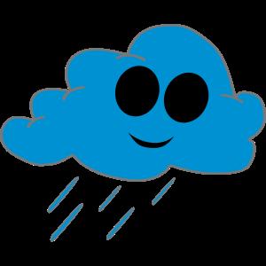 Regenwolke freundlich F