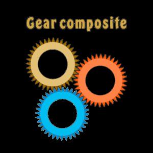 Zahnrad Gear composite