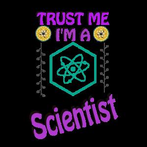 Scientist Wissenschaft Design lustige Geschenkidee