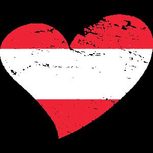 Herz mit Oesterreich